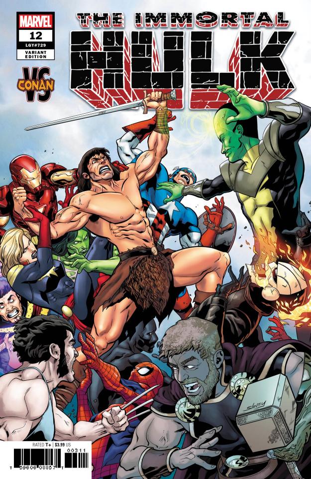 The Immortal Hulk #12 (Sliney Conan Cover)