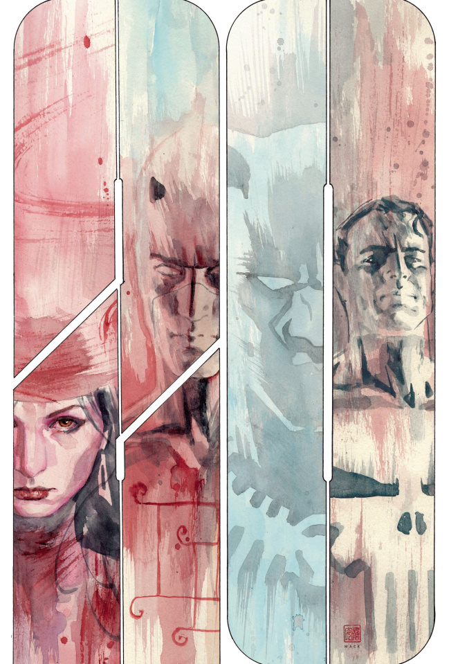 Marvel Knights: 20th Anniversary #1 (Mack Cover)