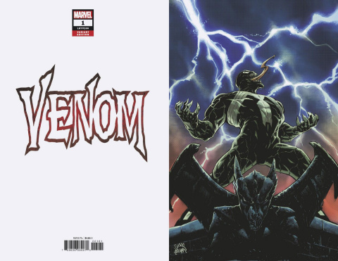 Venom #1 (Stegman Virgin Cover)