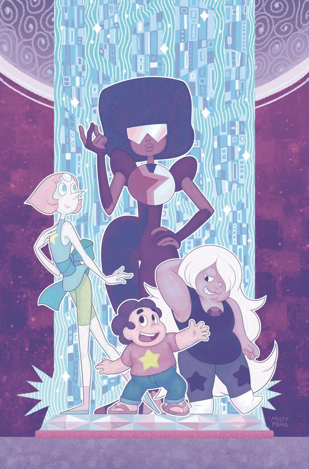 Steven Universe #1 (50 Copy Gem Foil Pena Cover)