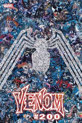 Venom #35 (Garcin 200th Issue Cover)