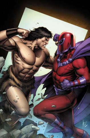 Uncanny X-Men #8 (Keown Conan Cover)