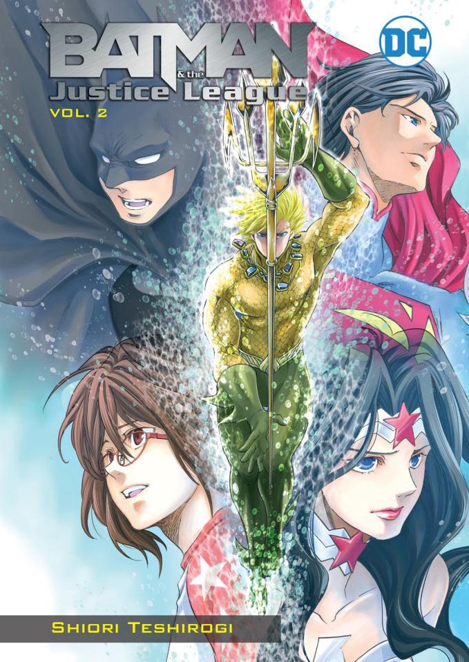 Batman & The Justice League Vol. 2 (Manga)