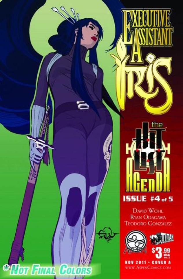 Executive Assistant Iris #4