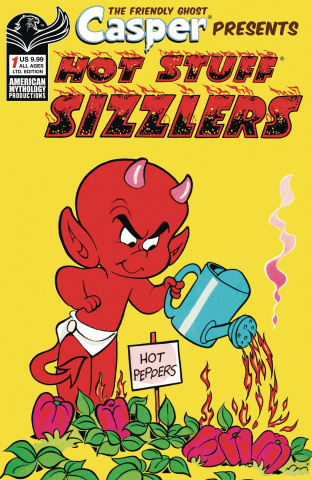 Capser Spotlight: Hotstuff Sizzlers #1 (Retro Cover)