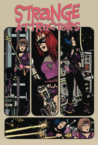 Strange Attractors #8 (Cohen Cover)