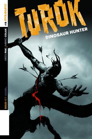 Turok: Dinosaur Hunter #9 (Subscription Cover)