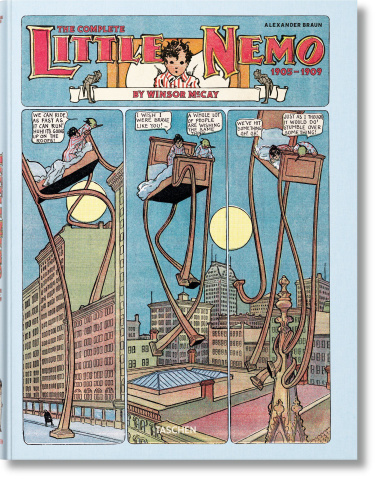 Little NemobBy Winsor McCay: The Life of an Imaginative Genius