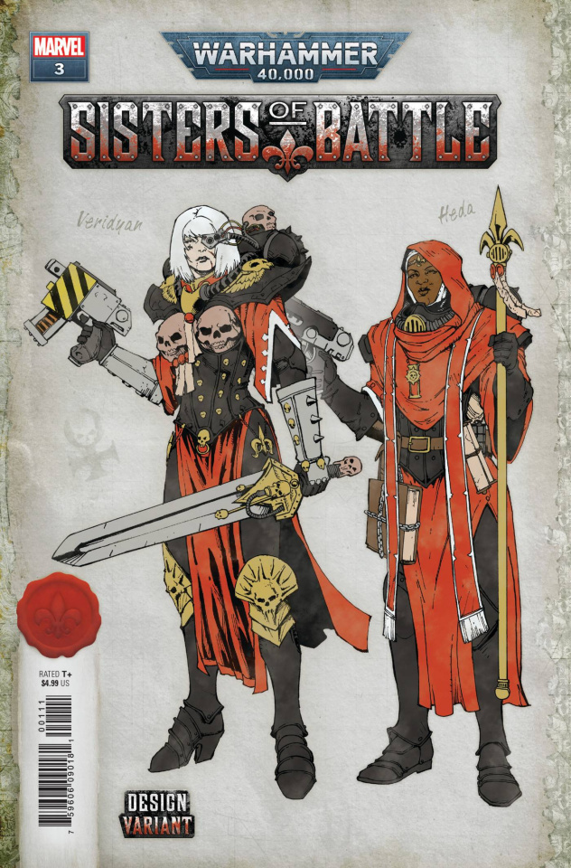 Warhammer 40,000: Sisters of Battle #3 (Salazar Design Cover)