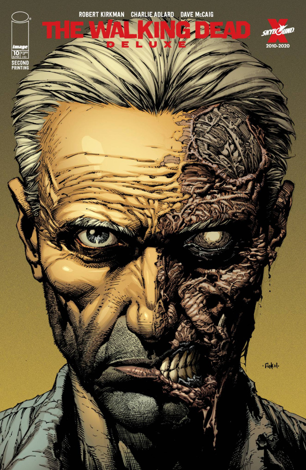The Walking Dead Deluxe #10 (Finch & McCaig 2nd Printing)