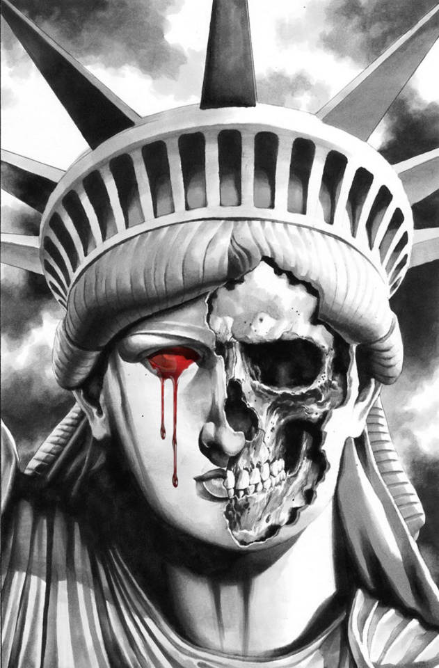 Bloodshot U.S.A. #4 (50 Copy Suayan Cover)