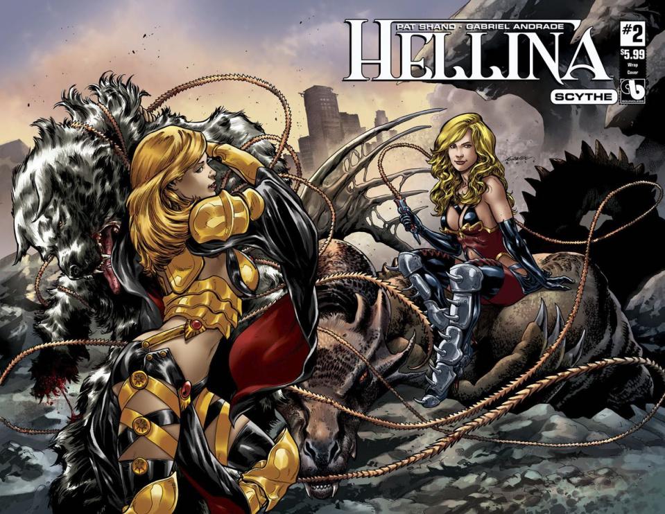 Hellina: Scythe #2 (Wrap Cover)