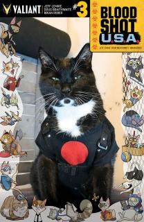 Bloodshot U.S.A. #3 (Cat Cosplay Cover)