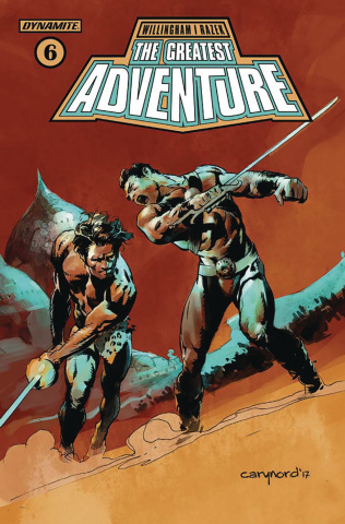 The Greatest Adventure #8 (Nord Cover)