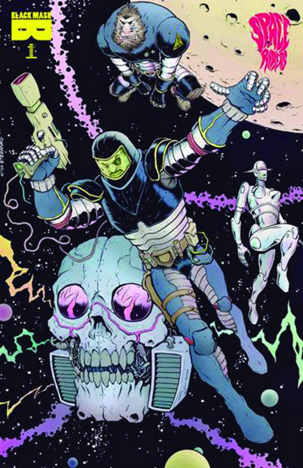 Space Riders #1 (3rd Printing)