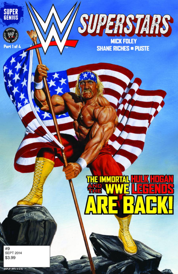 WWE Superstars #9 (Jusko Cover)
