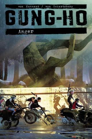 Gung-Ho: Anger #1 (Von Kummant Cover)