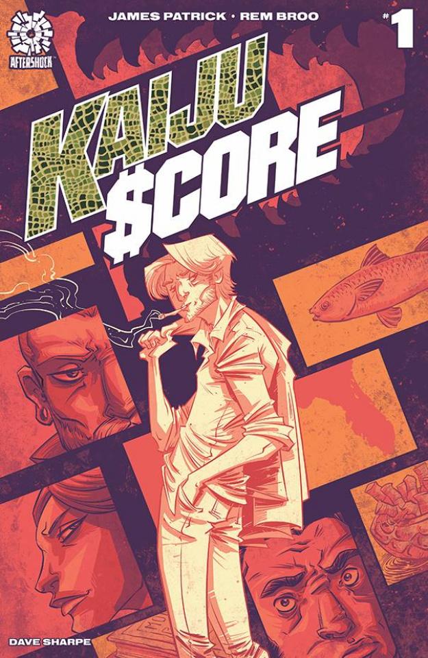 Kaiju Score #1 (Broo Cover)