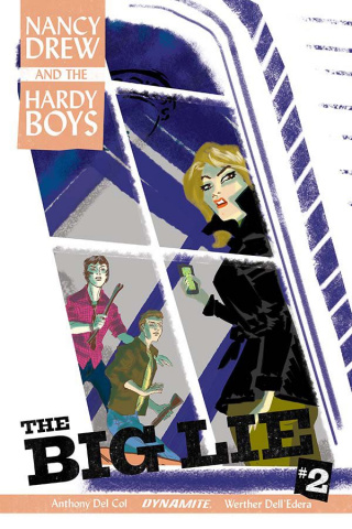 Nancy Drew and The Hardy Boys #2 (Bullock Cover)