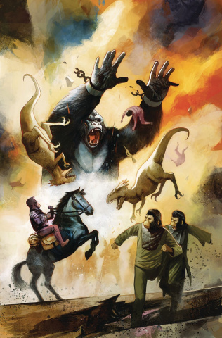 Kong on The Planet of the Apes #5