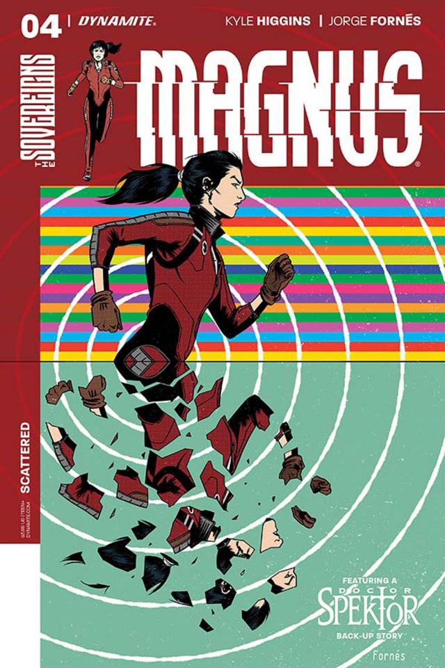 Magnus #4 (Fornes Cover)