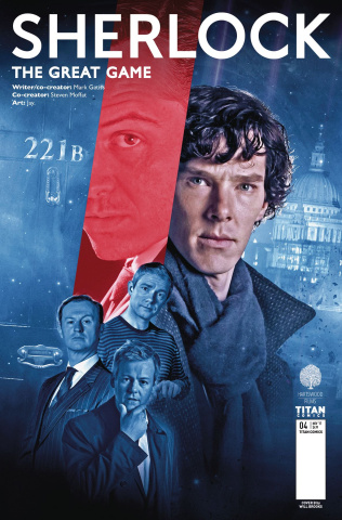 Sherlock: The Great Game #4 (Photo Cover)
