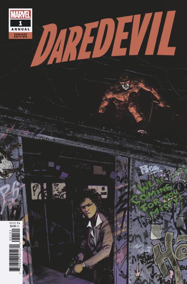 Daredevil Annual #1 (Zaffino Cover)