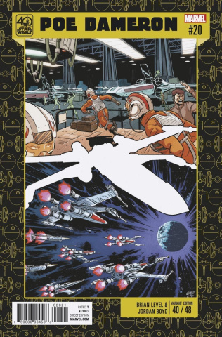 Star Wars: Poe Dameron #20 (Level 40gth Anniversary Cover)