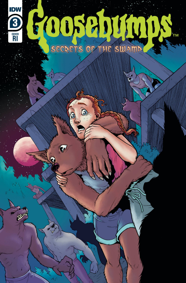 Goosebumps: Secrets of the Swamp #3 (10 Copy Meath Cover)