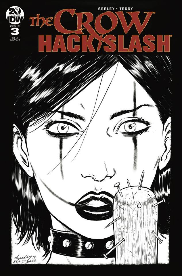 The Crow / Hack/Slash #3 (20 Copy Seeley Cover)