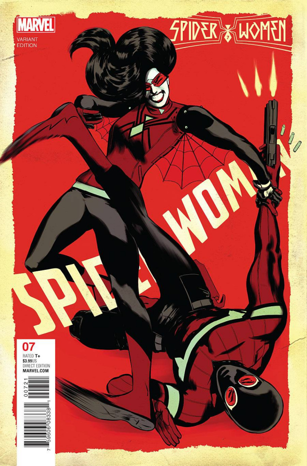 Spider-Woman #7 (Rodriguez Cover)