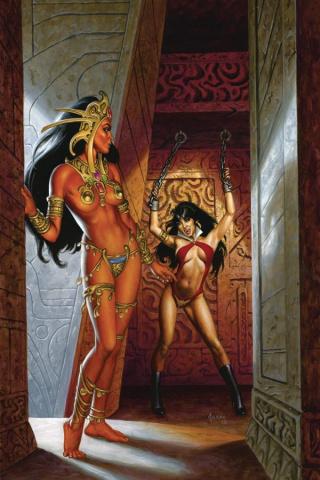 Vampirella / Dejah Thoris #4 (10 Copy Jusko Virgin Cover)