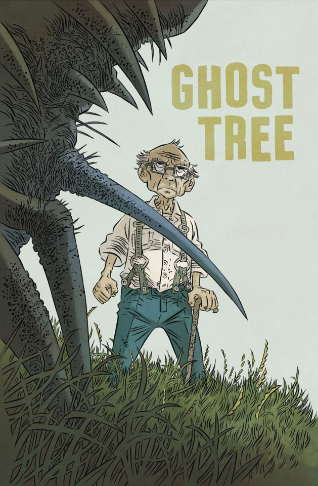 Ghost Tree #4 (Gane Cover)