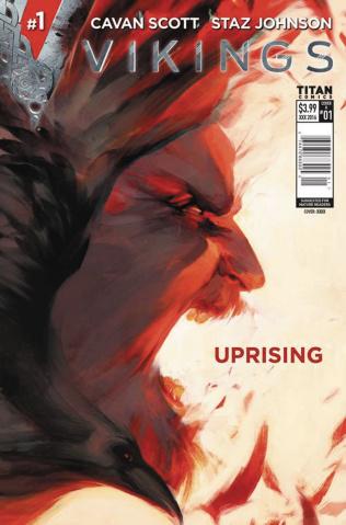 Vikings: Uprising #1 (Glass Cover)