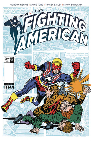 Fighting American: The Ties That Bind #1 (Kirby Cover)