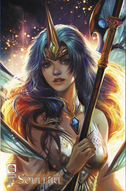 Soulfire #2 (10 Copy Cover)