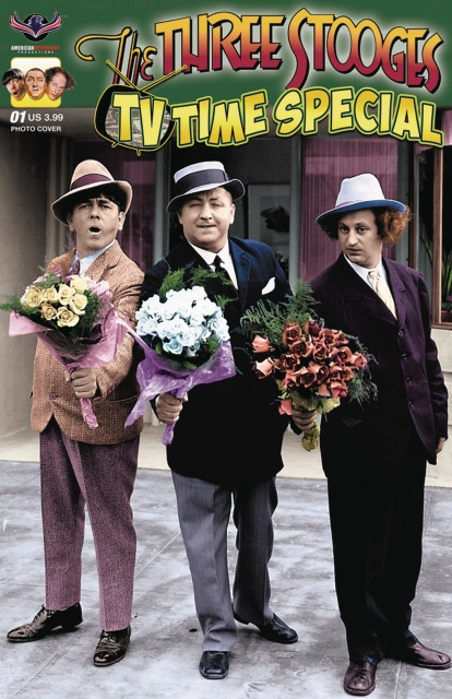 The Three Stooges: TV Time Special (Photo Cover)
