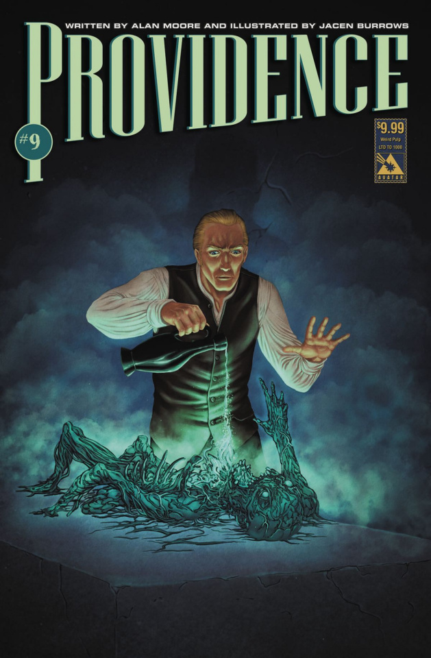 Providence #9 (Weird Pulp Cover)