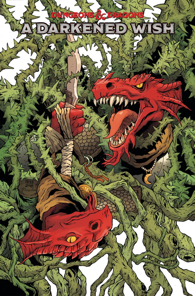 Dungeons & Dragons: A Darkened Wish #3 (Fowler Cover)