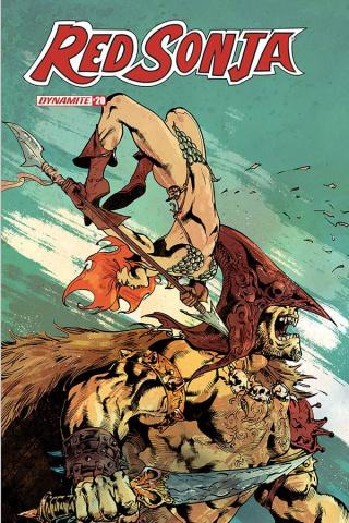Red Sonja #20 (Roberto Castro Cover)
