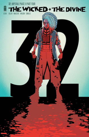 The Wicked + The Divine #32 (Walking Dead #150 Tribute Cover)