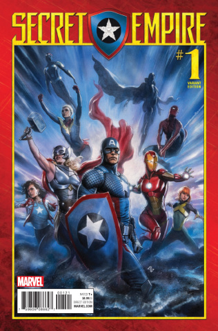 Secret Empire #1 (Granov Cover)