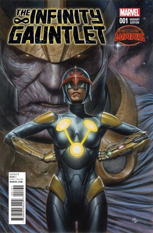 The Infinity Gauntlet #1 (Granov Cover)