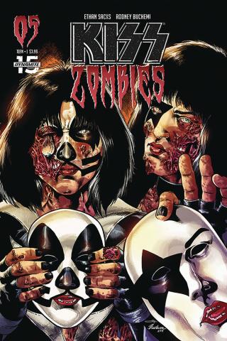 KISS: Zombies #5 (Buchemi Cover)