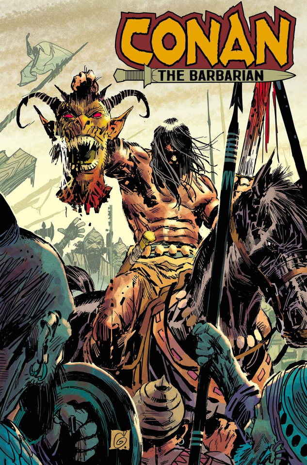 Conan the Barbarian #9 (Garney Cover)