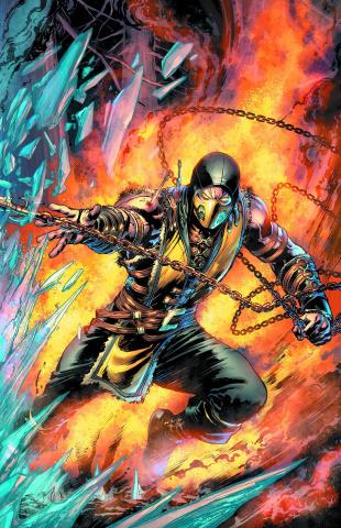 Mortal Kombat X #1 (Scorpion Cover)