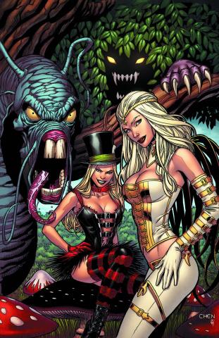 Grimm Fairy Tales: Wonderland #25 (Chen Cover)
