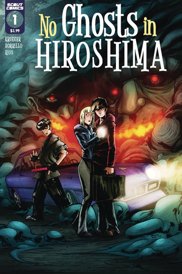 No Ghosts in Hiroshima #1 (10 Copy Alberto Rios Unlock Cover)