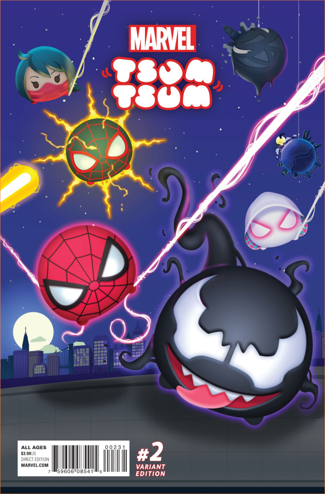Marvel Tsum Tsum #2 (Classified Connecting Cover)