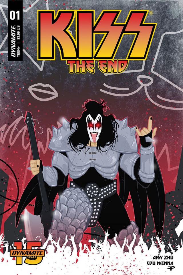 KISS: The End #1 (Medri Cover)